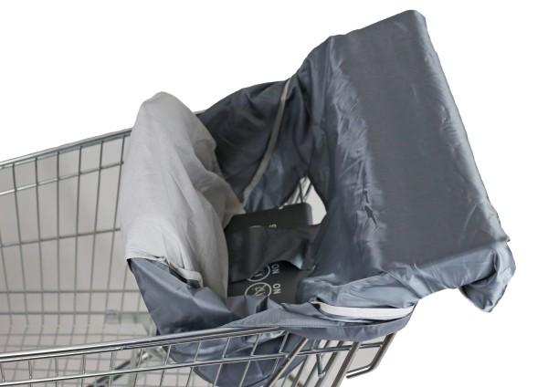 Sitzbezug Einkaufswagen Schutz für Babys Hygieneschutz Elternstolz