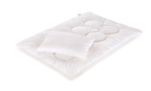 Paradies Bettenset für Kinder Anela Bio 100x 135 inklusive Kissen