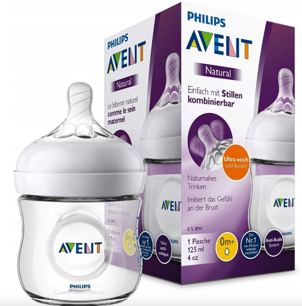 BP AVENT Natural Flasche 125 ml