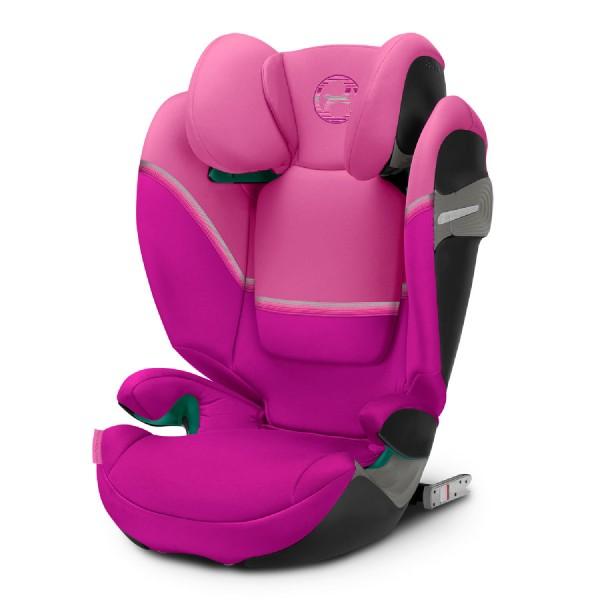 Cybex SOLUTION S I-FIX Magnolia Pink purple