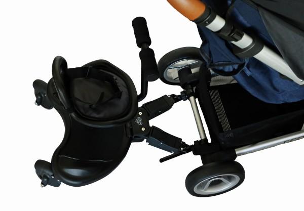 Elternstolz Buggy Board Buggyboard für Kinderwagen mit Sitz oder ohne Sitz