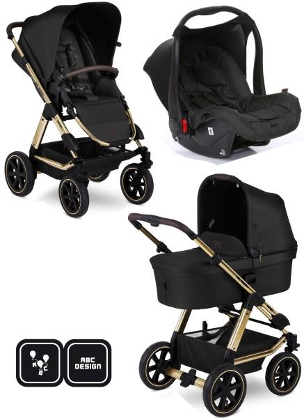 ABC Design Viper 4 Diamond Kinderwagen 3in1 Set champagne