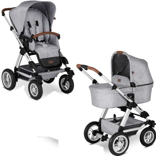 ABC Design Kinderwagen Viper 4 incl. Sportsitz und Tragewanne - Kollektion 2020 graphite grey