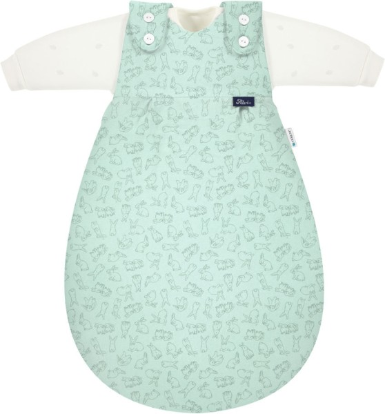 Alvi Baby- Mäxchen 3tlg Tencel Bunny 68/74