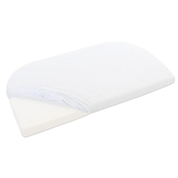 babybay Frottee Spannbetttuch für Original, weiß