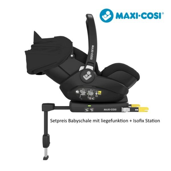 Maxi-Cosi Marble Essential Black Babyschale