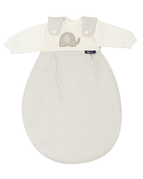 ALVI Baby-M?xchen Super Soft Elefant beige, 3-teilig, Gr. 56/62 x