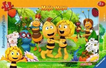 Ravensburger Kinderpuzzle - Biene Maja, Biene Majas Welt