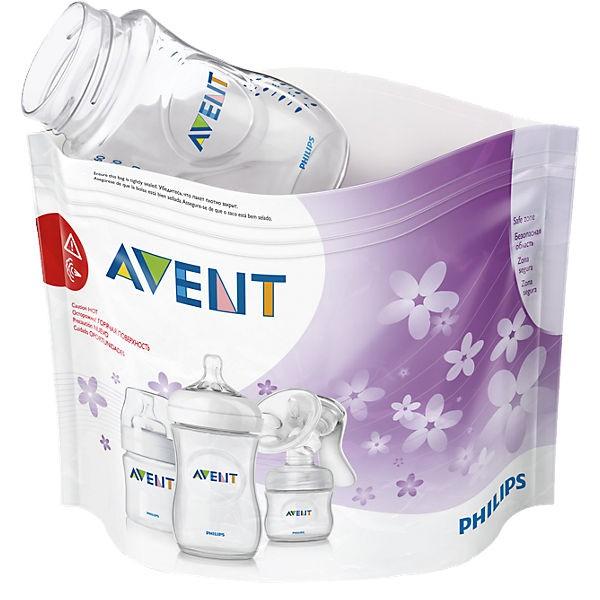AVENT Mikrowellen-Sterilisations- beutel, 5 Beutel