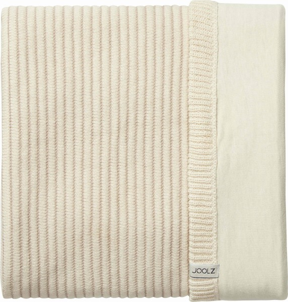 Joolz Essentials Ribbed Decke Off-white