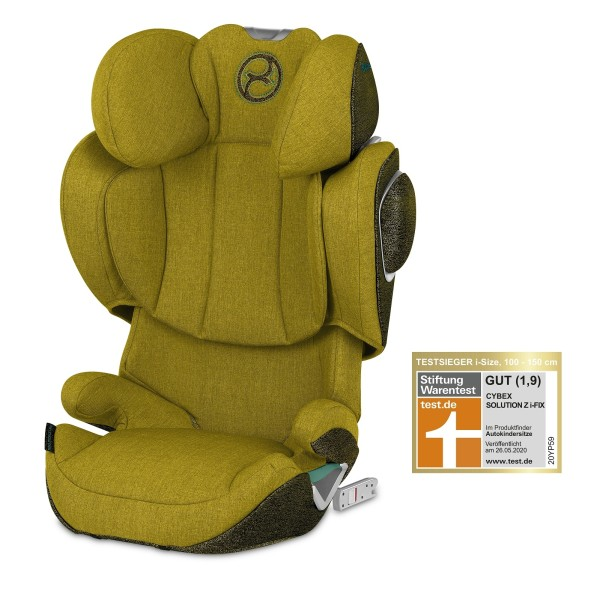 Cybex SOLUTION Z I-FIX PLUS Mustard Yellow yellow