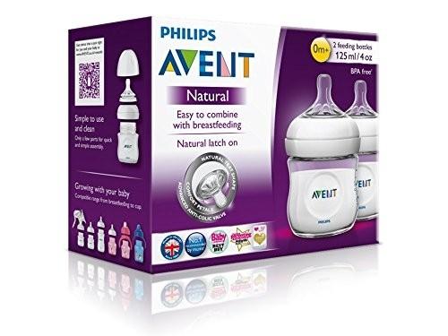 BP AVENT Natural Flasche Doppelpack 125 ml