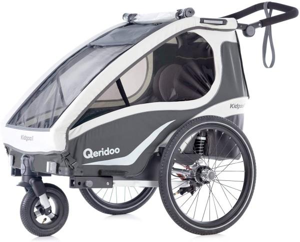 Qeridoo Kidgoo 1 Fahrradanhänger Einsitzer Modell 2019