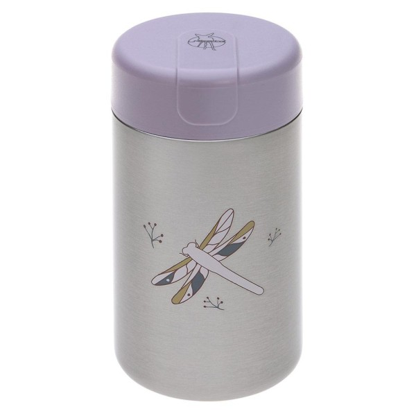 Lässig Edelstahl-Thermobehälter Food Jar Big 480 ml - Adventure Dragonfly
