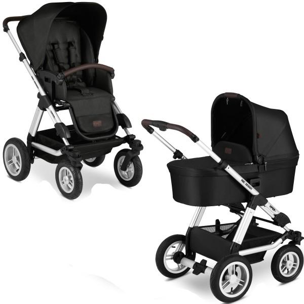 ABC Design Kinderwagen Viper 4 incl. Sportsitz und Tragewanne - Kollektion 2020 gravel