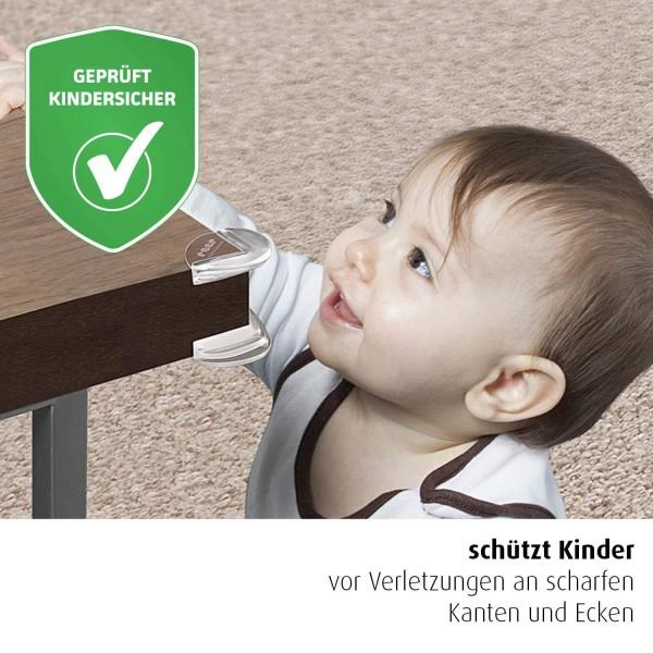 REER Eckenschutz transparent 4 St?ck, inkl. Klebeband x