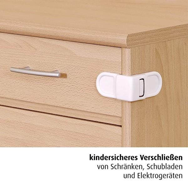 REER Schrank- und Schubladensicherung wei? x