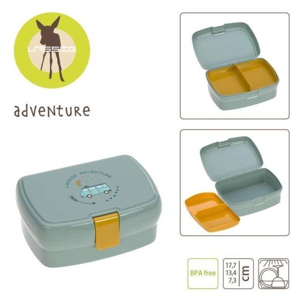 Lässig Brotdose Lunchbox Adventure -Bus