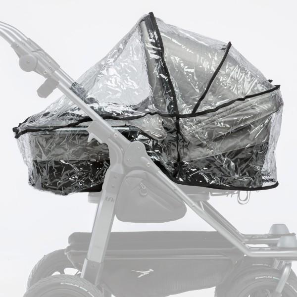 TFK Regenschutz - duo - Kombi Kinderwagen - (2 Wannen) 1 Set - 2 Stück