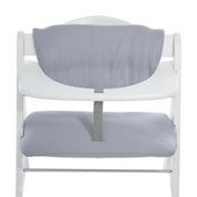 Hauck Highchair Pad Deluxe Stretch Grey