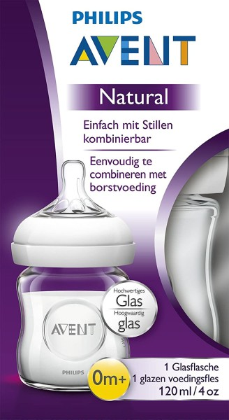 BP AVENT Glasflasche 120 ml