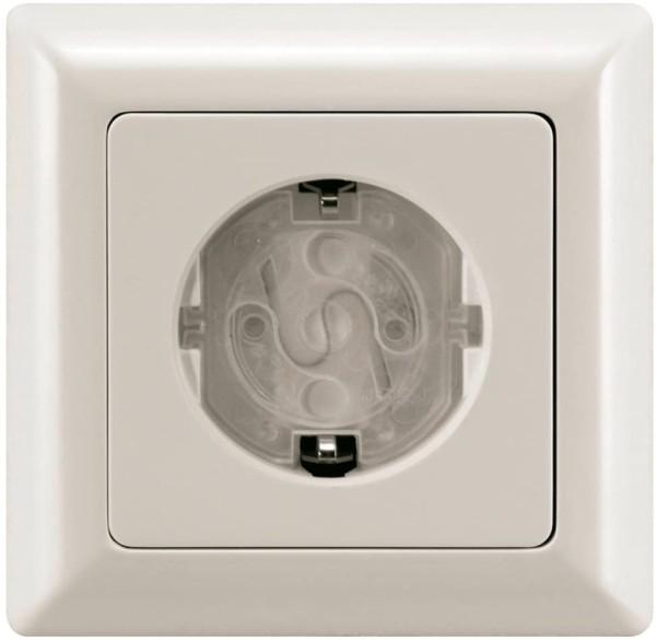REER Steckdosenschutz transparent, drehbar, 10 St?ck x